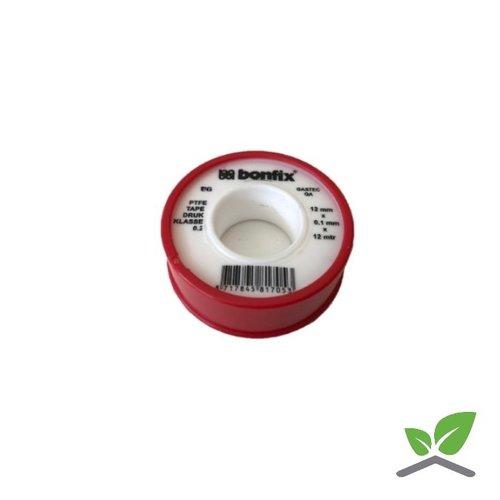 Teflonband - Gastec genehmigt, Rolle 12m