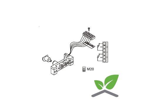 Honeywell eindschakelaar voor servomotor ML6421/ML7421