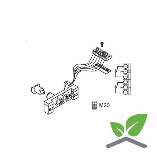 Hilfsschalter,fúr Stellantriebe ML6421/ML7421