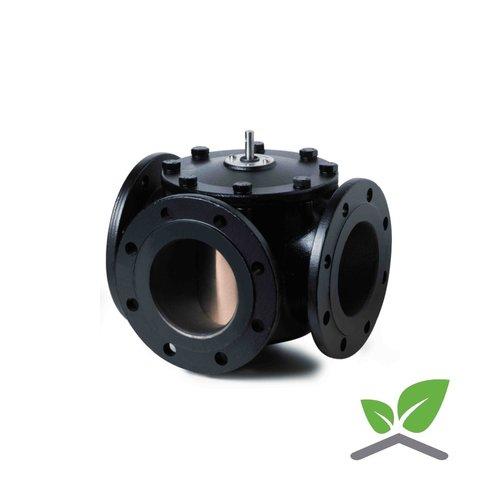 Siemens VBF21 Three-port slipper valves, PN6, flanged N4241