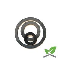 Rubber pakking PN6/10/16 voor flens 20 mm t/m 300 mm