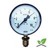 """Manometer 0...10 Bar; Gehäuse 100 mm Anschluss 1/2"""" unten"""