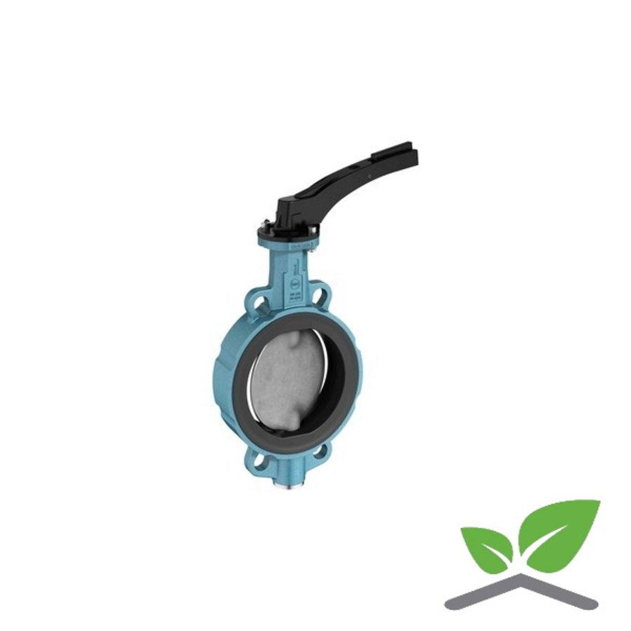 Ebro vlinderafsluiter Z011-a ; DN 20  t/m 300 mm; druktrap PN6/10/16-1