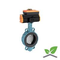 thumb-Ebro vlinderafsluiter Z011-a met E-motor ; DN 25  t/m 300 mm; druktrap PN6/10/16-3