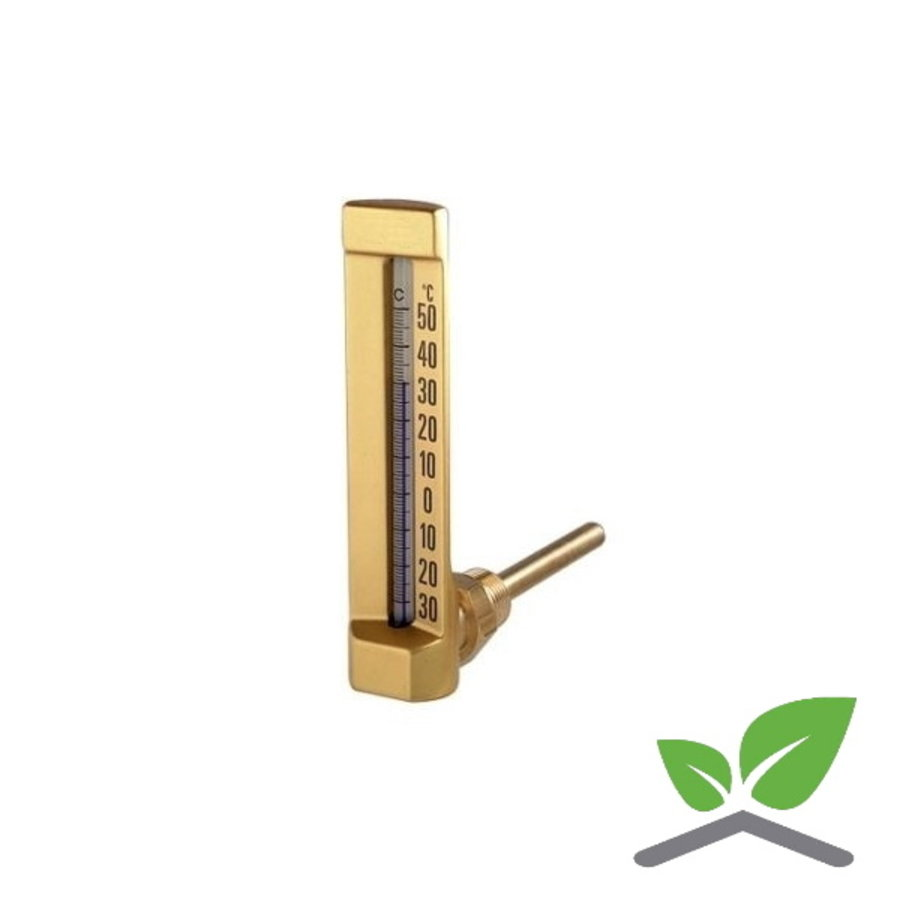Rod liquid thermometer  angled,0  ...+120 gr. C-1