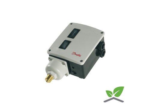 Danfoss RT 112 pressostaat 0,1 - 1,1 bar