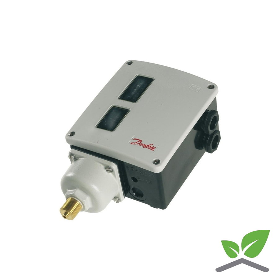 "Danfoss pressure switch RT 116;  3/8"" male; 1,0-10 bar-1"
