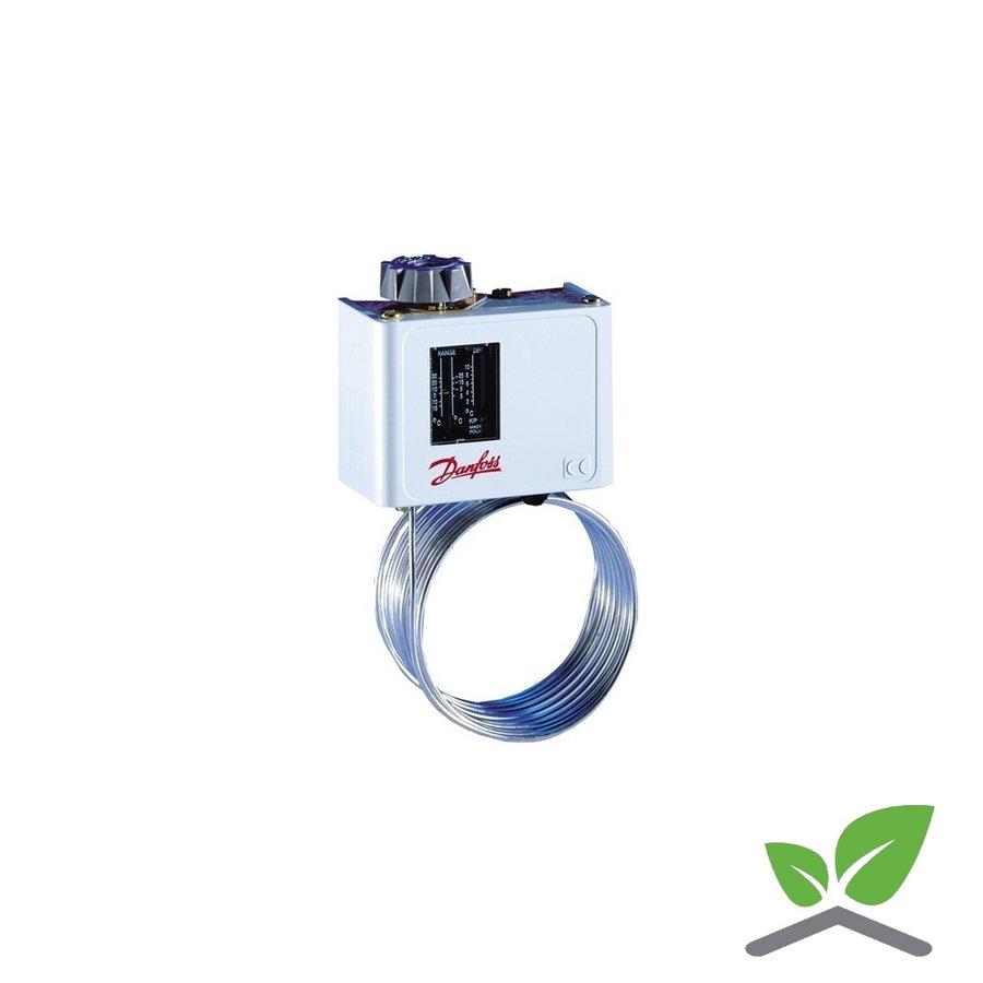 Danfoss KP61 frost thermostat with 2 m. capillair -30...+15 gr. C-1