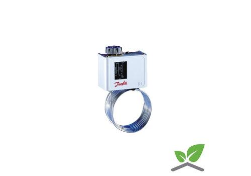 Danfoss KP61 vorstthermostaat met 5 m. capillair -30...+15 gr. C