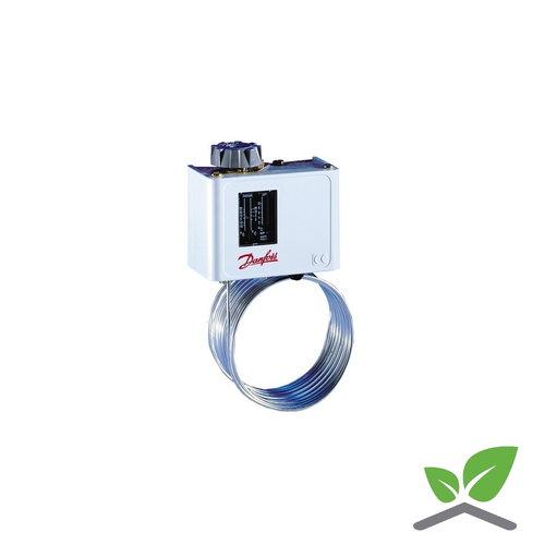 Danfoss frost thermostat with 5 m. capillair KP61; -30...+15 gr. C