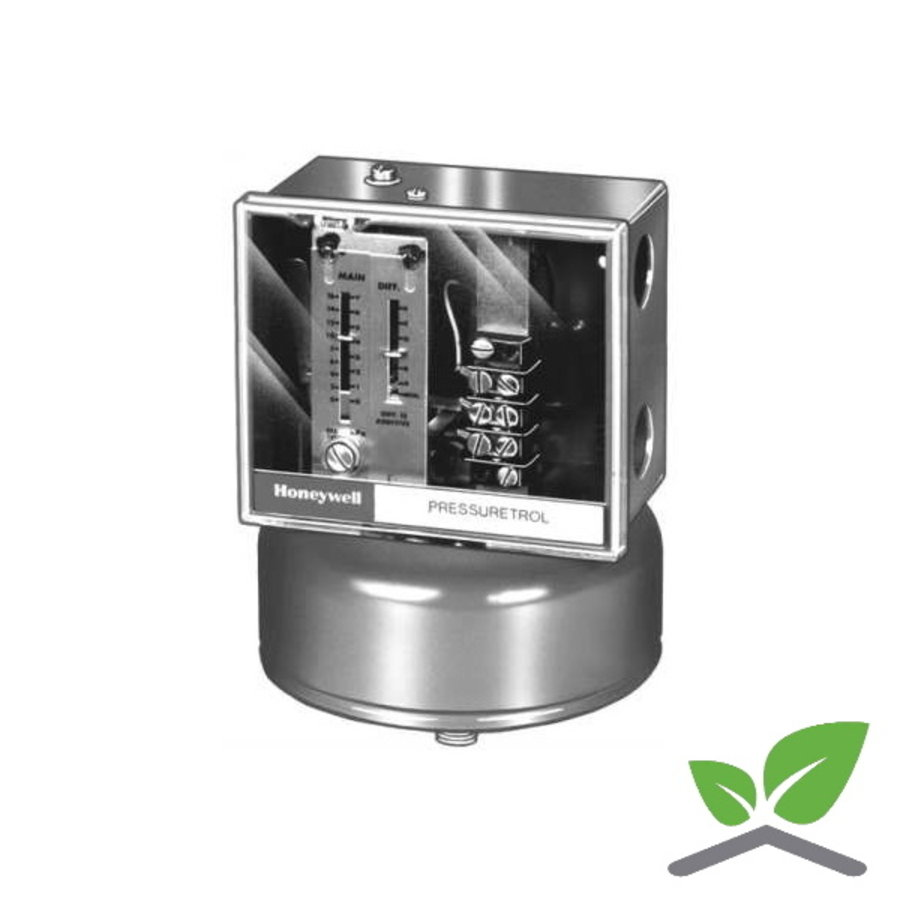 Honeywell pressure switch L91B1035/Ui; 0.....100 kPa-1
