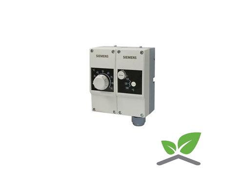 Siemens dubbelthermostaat RAZ  TW 1000P; +15...+95 gr. C