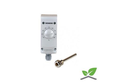 Siemens control thermostat RAK TR 1000B; +15...+95 gr. C