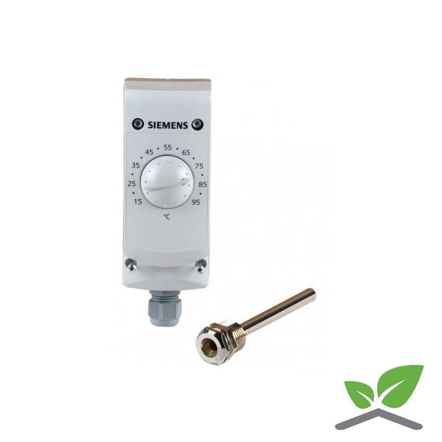 Siemens thermostaat RAK TR 1000B; +15...+95 gr. C-1