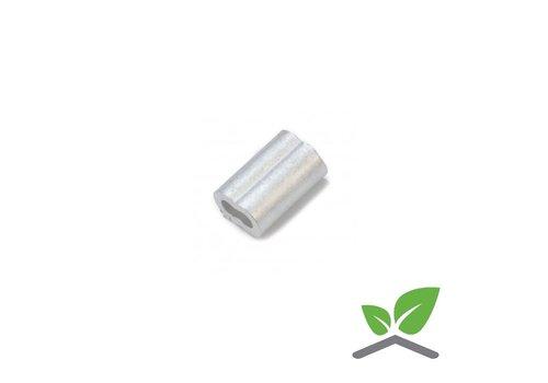 Aluminium ferrule 8-shape