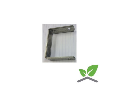 Bracket U-shape for mounting trellis 50 x 30 mm