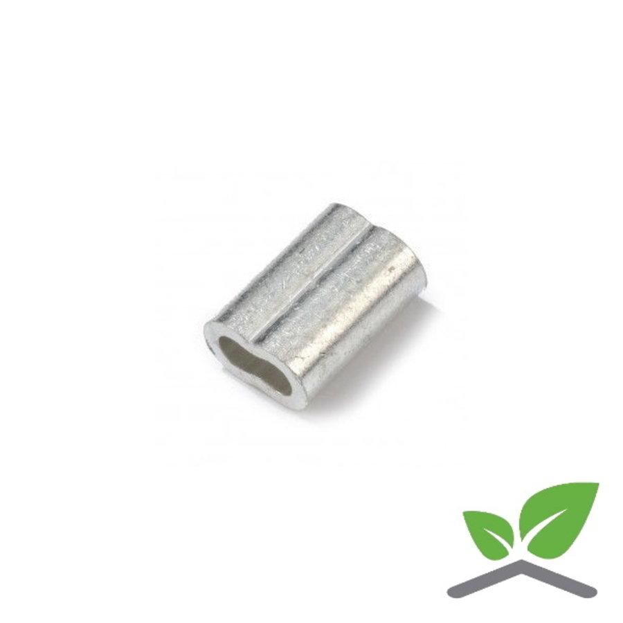 Nicopress persklem voor RVS kabel 2 t/m 8 mm-1