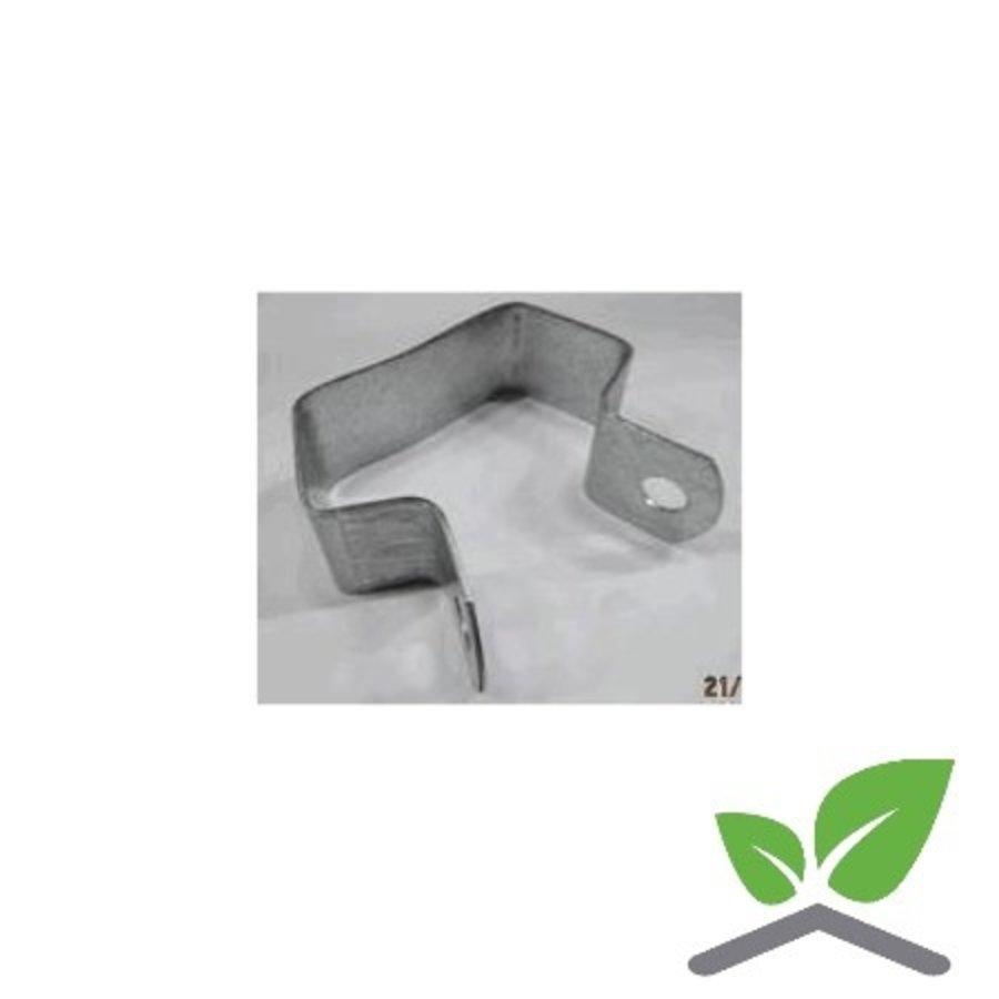Gitterbindenbügel 60 x 30 mm, zentrisch, galvanisiert, Karton 250 Stück-1
