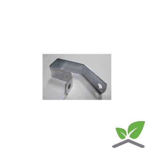 Truss-clips 60x30 mm, eccentric, galvanised, box 250 pieces