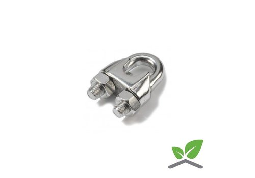 Wire rope clip Stainless  (unit 100 pieces)