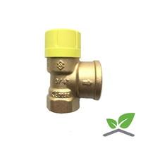 Flamco Prescor Solar  safety valve 3/4 ''