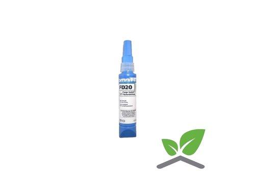 Omnifit FD20 vloeibare pakking Gastec keur Tube 50 & 200 gram