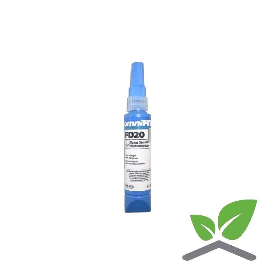 Omnifit FD20 vloeibare pakking Gastec keur Tube 50 & 200 gram-1