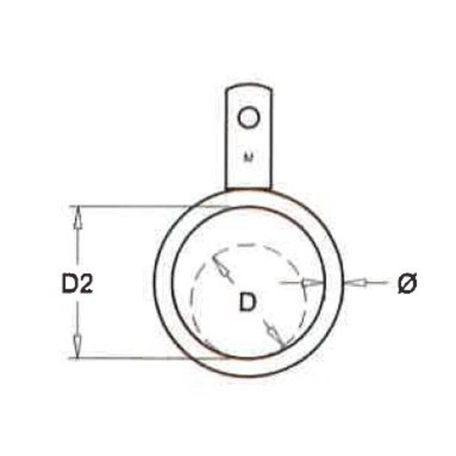 Ring mit einzigen Lippe für Rohre 51 zu 219 mm (Pro Bündel)-2