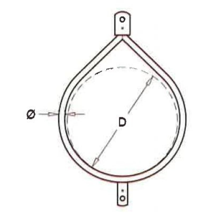 Ring 51-219 mm DL double lip-3