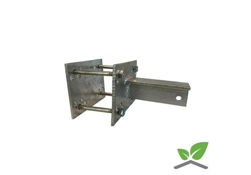 T-Konsole für Stutz 40 - 100 mm - Komplettset
