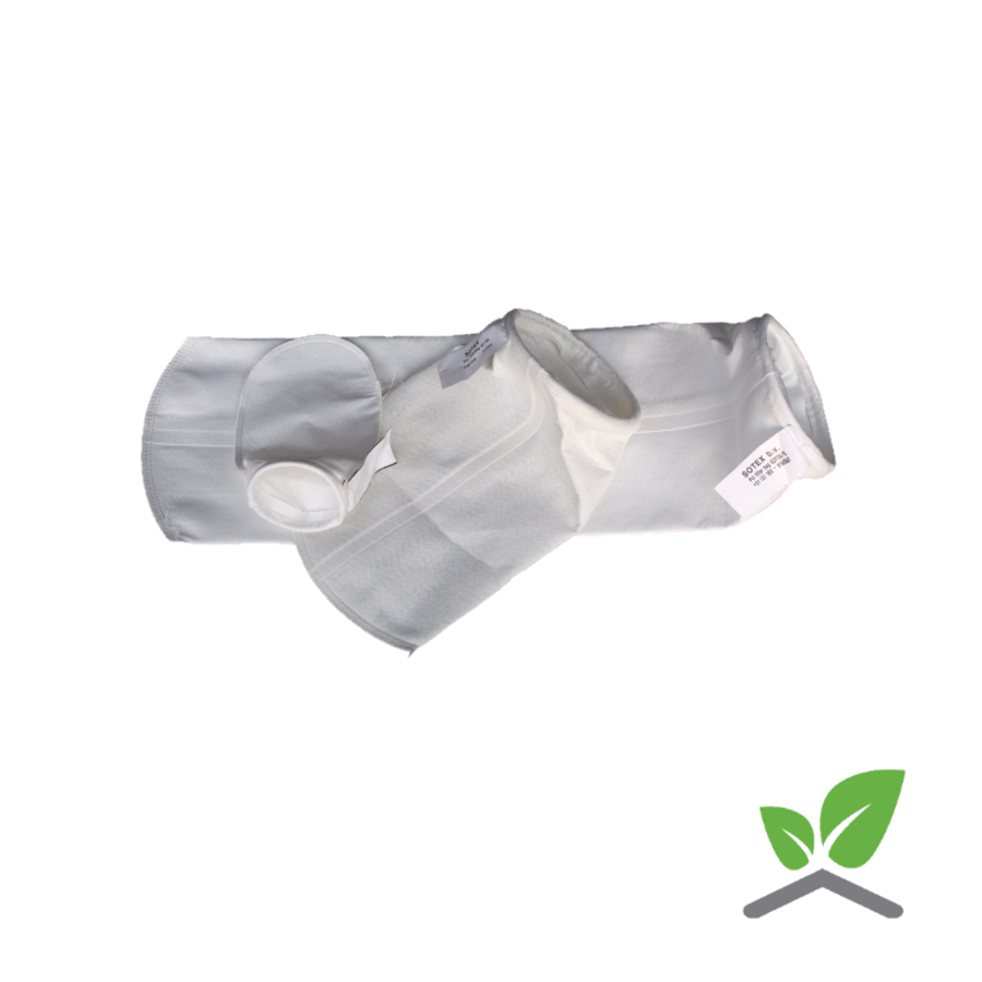 Filter bag for Sotex part-flow filter and CleanoMat-1