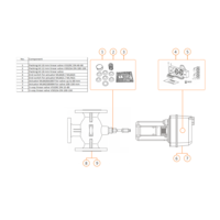 thumb-Honeywell servomotor ML6421B3012 230Vac voor klep 100-150 mm-2