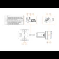 thumb-Honeywell Elektrischer Ventilstellantrieb ML6425B3005 Federrücklauf für Stellventil bis 80 mm-1