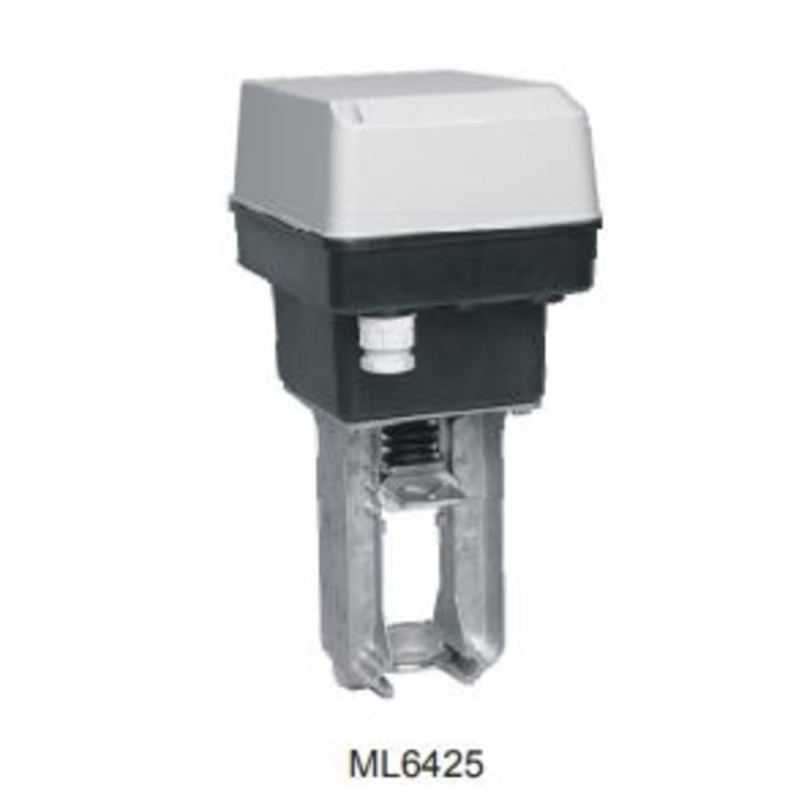 Honeywell Elektrischer Ventilstellantrieb ML6425B3005 Federrücklauf für Stellventil bis 80 mm-2