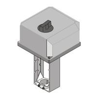 thumb-Honeywell Elektrischer Ventilstellantrieb ML6421B3012 230Vac für Stellventil DN100 - 150 mm-3