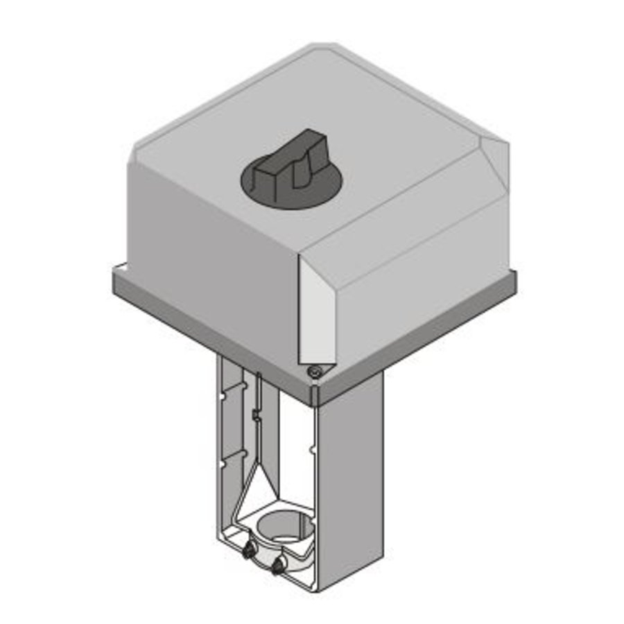 Honeywell Elektrischer Ventilstellantrieb ML6421B3012 230Vac für Stellventil DN100 - 150 mm-3