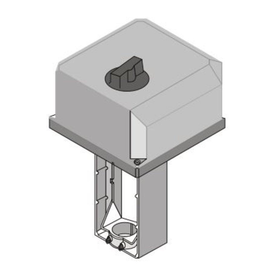 Honeywell servomotor ML6421B3005 voor klep t/m 80 mm-3