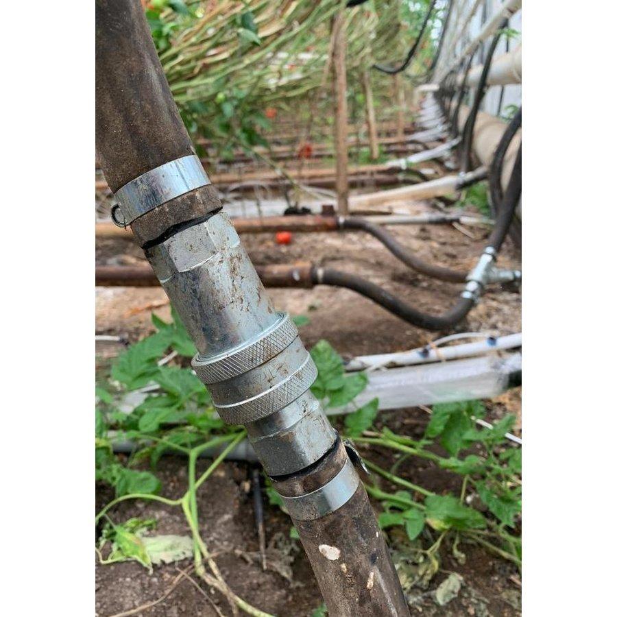 "Quick coupling set for hose 1""-2"