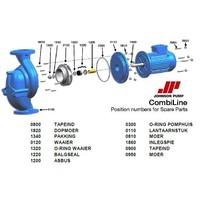 Reparatie sealset Johnson CL pomp -CL 125-160 1,5kw 6-polig