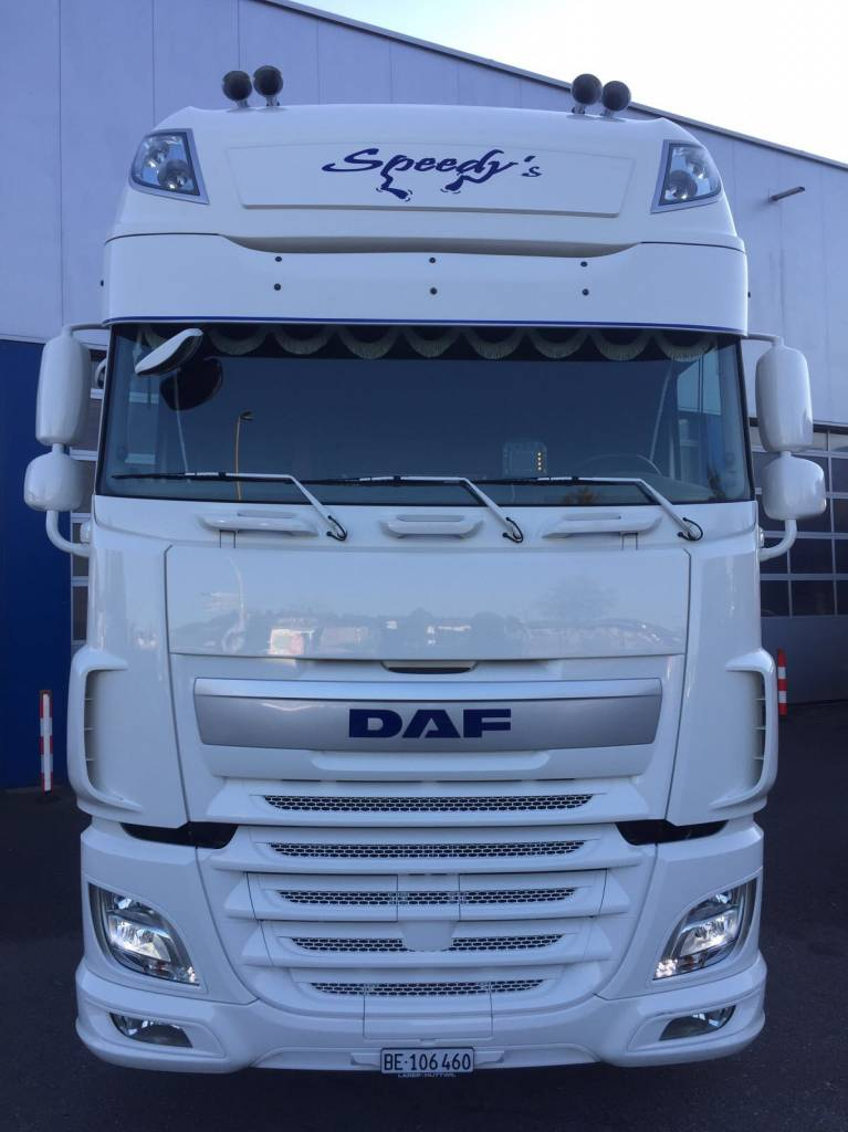 visière pour daf xf 106 type 2 - solar guard exclusive truckparts france