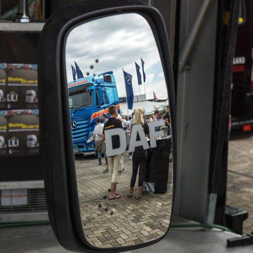 Miroir de camion DAF Trucks avec clignotant led