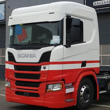 Scania Next Generation extension de pare-soleil