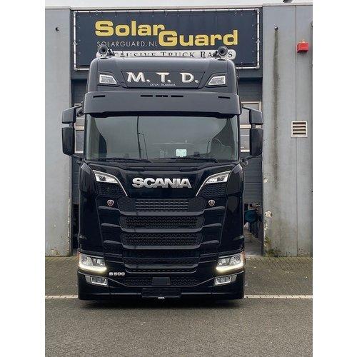 Scania  Scania Next Generation variable sun visor supports