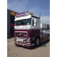 Complete sun visor for Volvo Trucks FH4