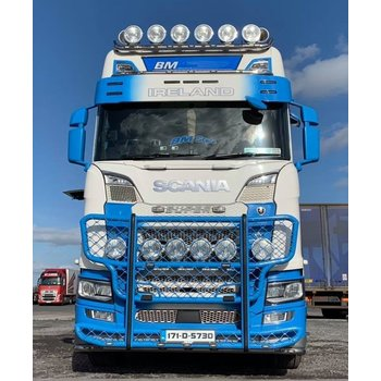 Sunvisor type 3D old lamps Scania Next Generation