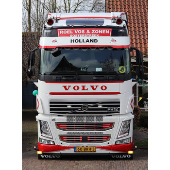 Upper front grille Volvo FH4