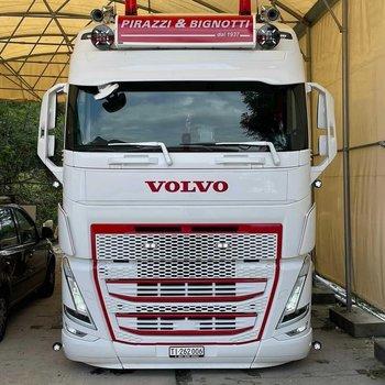 Complete sun visor Volvo FH4/5