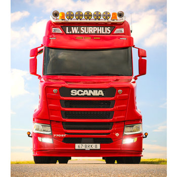 Scania Next Generation Sunvisor 5 Round Bottom