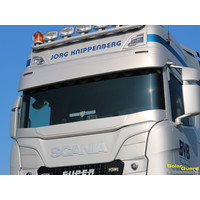 Scania Scania Next Generation Sun visor with line flat