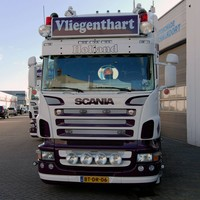 Scania R-series Highline sun visor type 1a